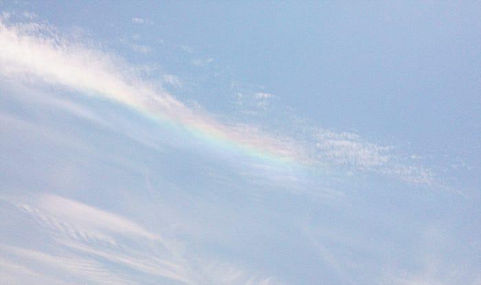 彩雲 環水平アーク
