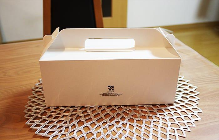 セブンカフェドーナツの箱