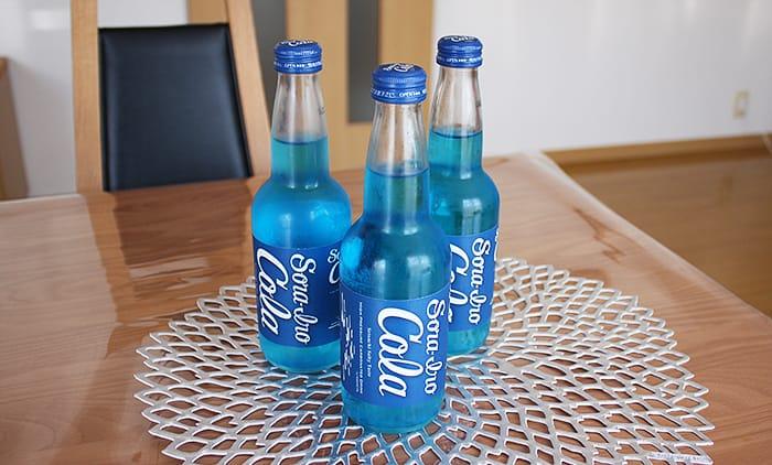 青いコーラはソライロコーラ!