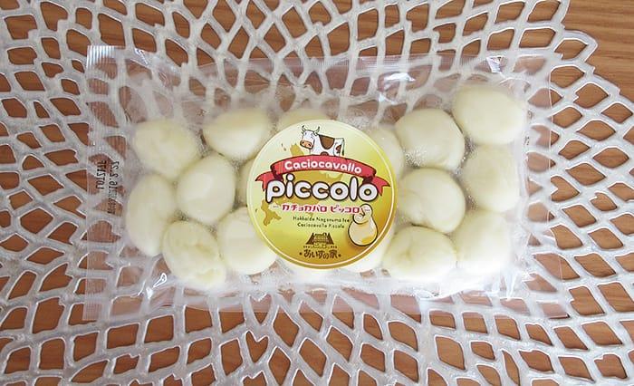 北海道物産展で買ったカチョカバロ・ピッコロ