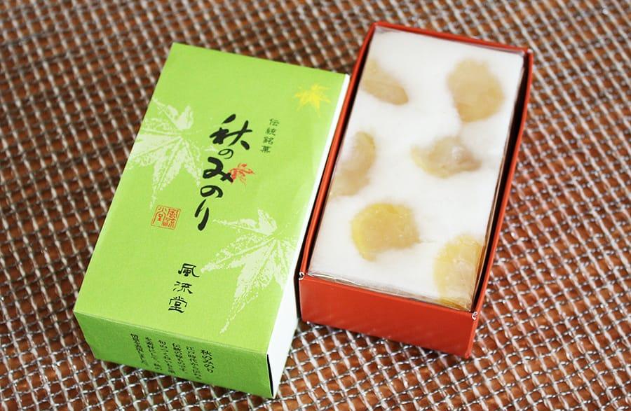 松江市 風流堂の和菓子