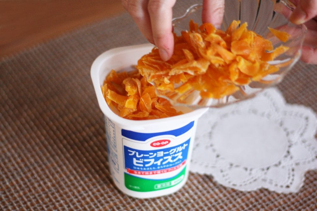 マンゴーヨーグルトの作り方