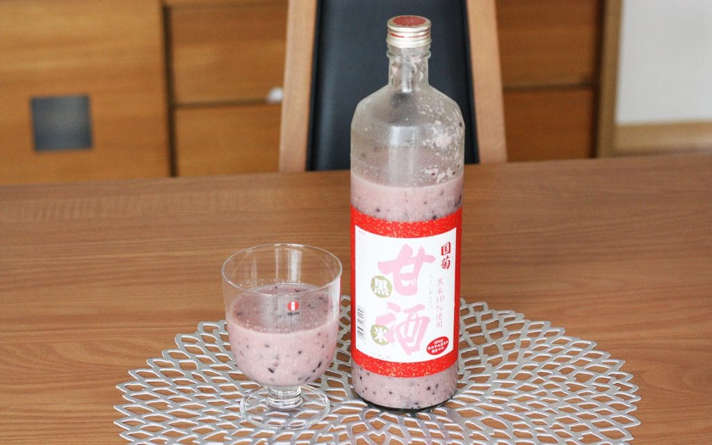 国菊の甘酒 黒米甘酒