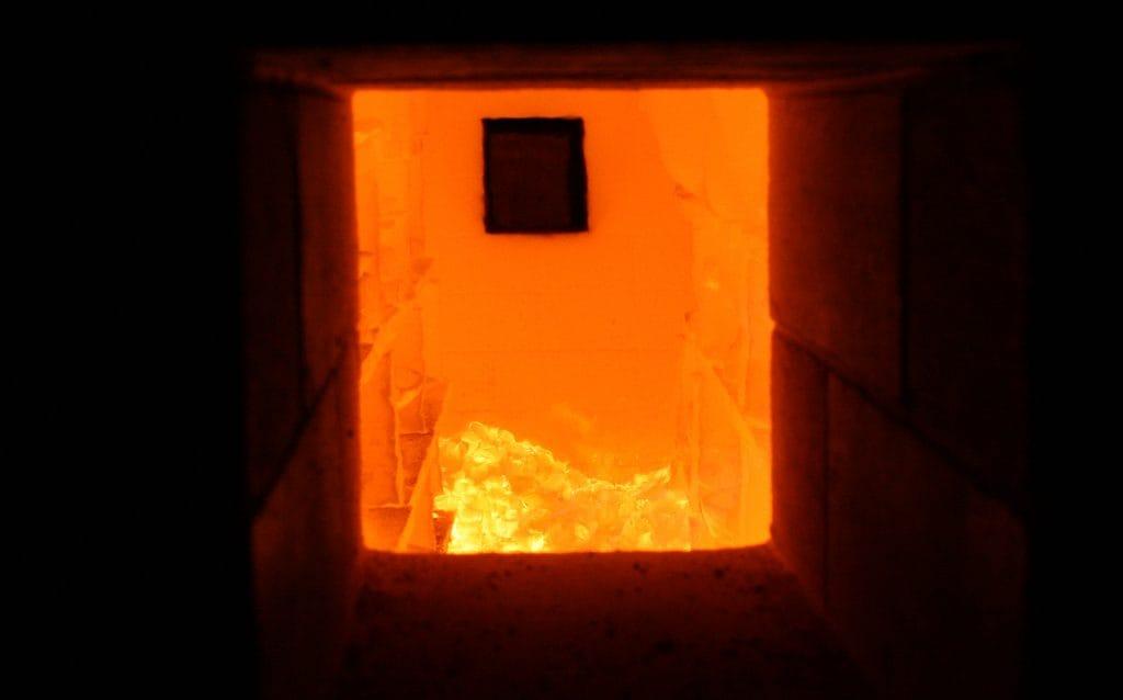 備前焼の釜