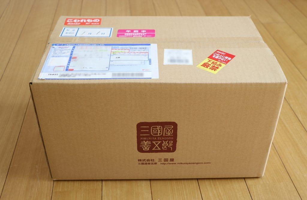 三國屋善五郎の福袋が届きました